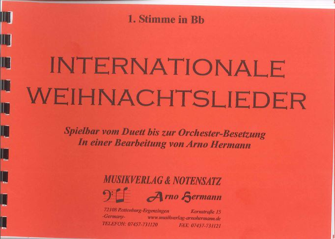 Cover INTERNATIONALE WEIHNACHTSLIEDER