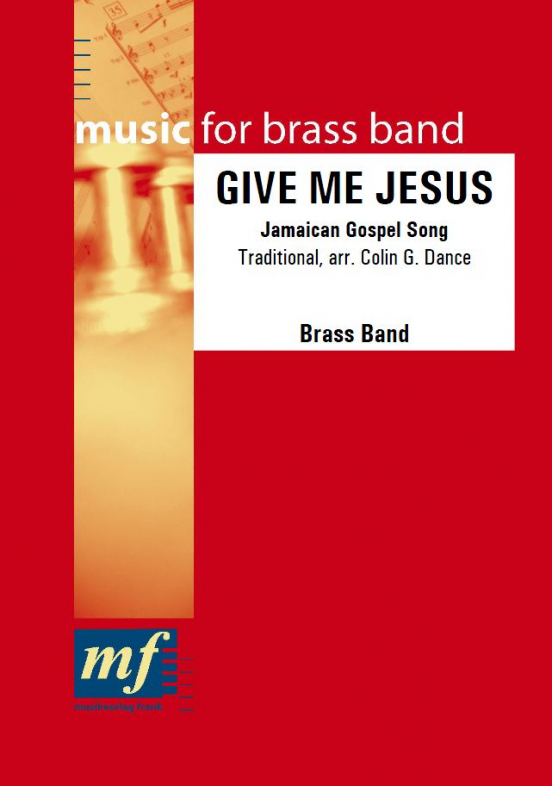 Cover GIVE ME JESUS