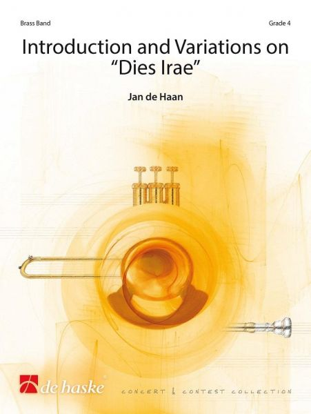 Cover INTRODUCION AND VARIATIONS ON DIES IRAE