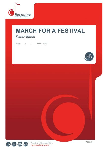 Cover MARCH FOR A FESTIVAL