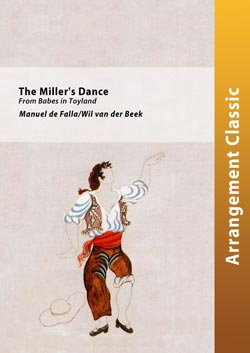Cover THE MILLER'S DANCE