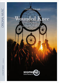 Cover WOUNDED KNEE