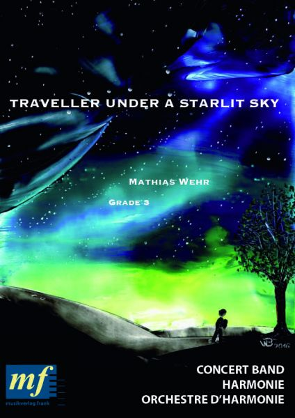 Cover TRAVELER UNDER A STARLIT SKY