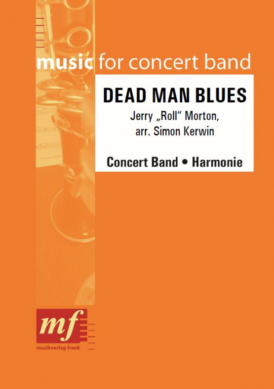 Cover DEAD MAN BLUES