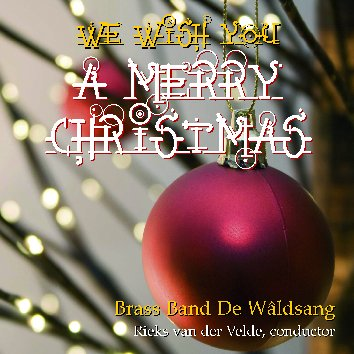 Cover WE WISH YOU A MERRY CHRISTMAS