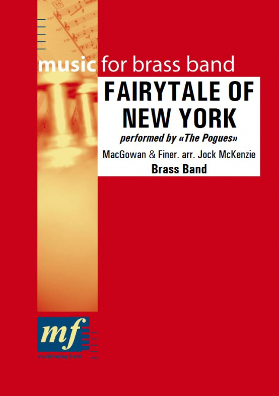 Cover FAIRYTALE OF NEW YORK