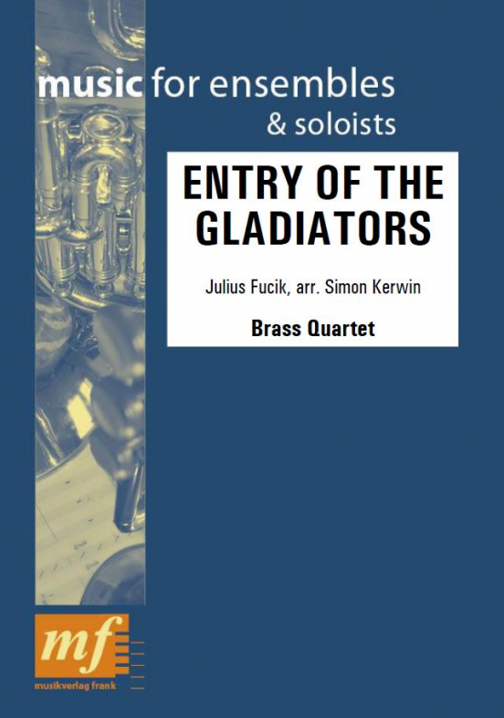 Cover ENTRY OF THE GLADIATORS