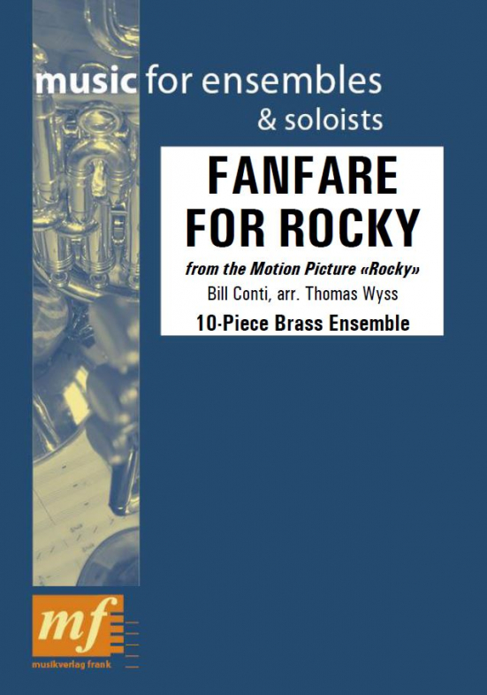 Cover FANFARE FOR ROCKY