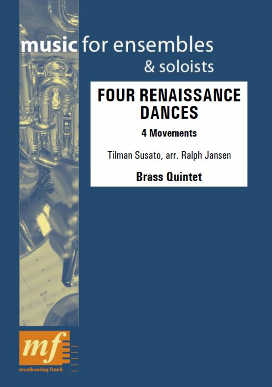 Cover FOUR RENAISSANCE DANCES