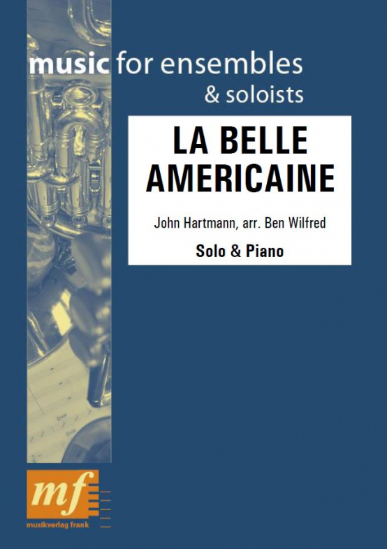 Cover LA BELLE AMERICAINE