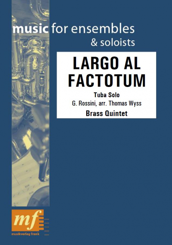 Cover LARGO AL FACTOTUM