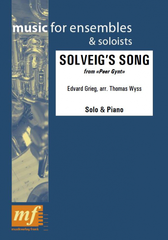 Cover SOLVEIG'S SONG