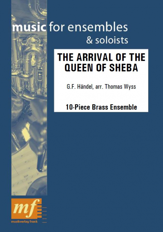 Cover THE ARRIVAL OF THE QUEEN OF SHEBA