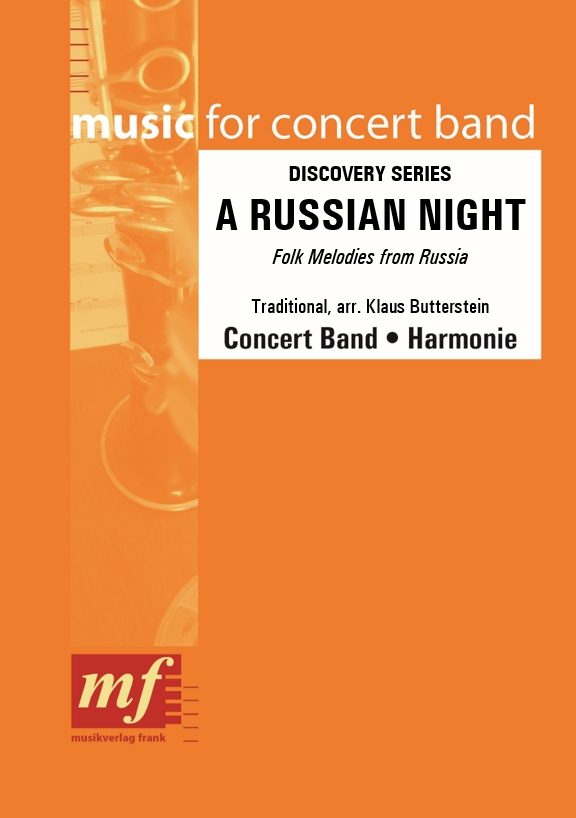 Cover A RUSSIAN NIGHT