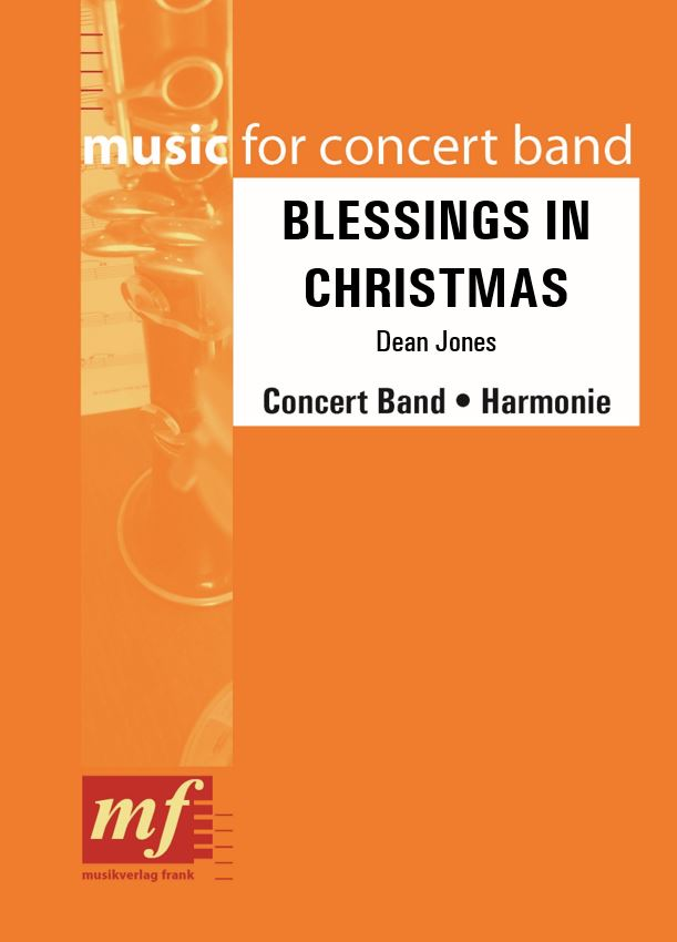 Cover BLESSINGS IN CHRISTMAS