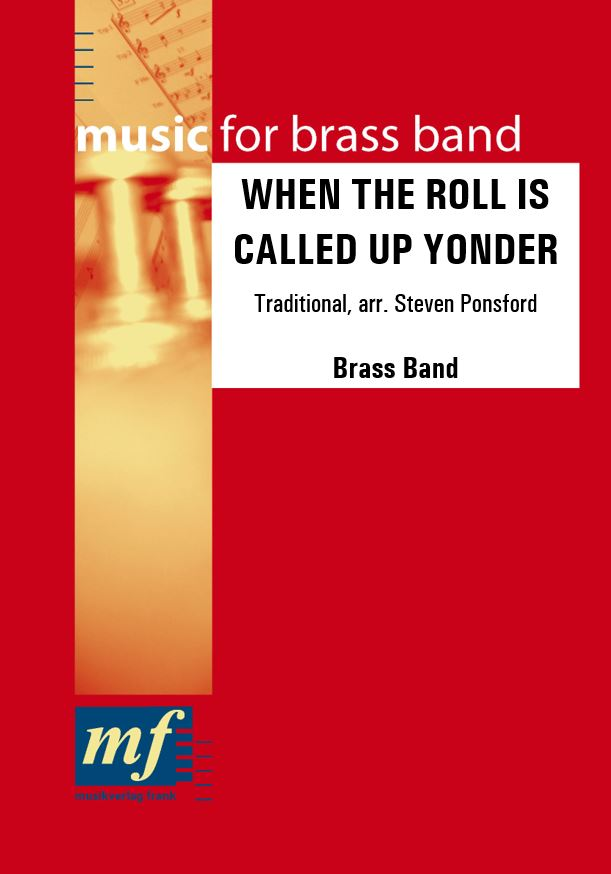 Cover WHEN THE ROLL IS CALLED UP YONDER