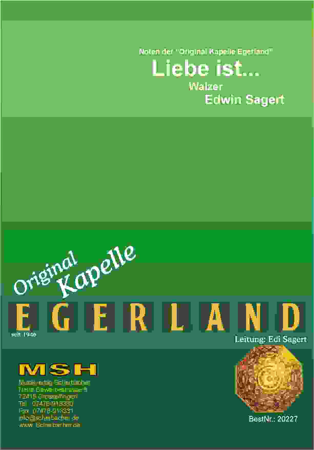 Cover LIEBE IST