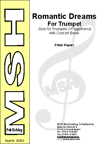 Cover ROMANTIC DREAMS FOR TRUMPET